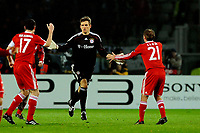 Hans Jorg Butt scored for Bayern Munchen. <br /> Torino 08/12/2009 Stadio Olimpico<br /> Juventus vs Bayern München - Champions League 2009-10.<br /> <br /> Norway only