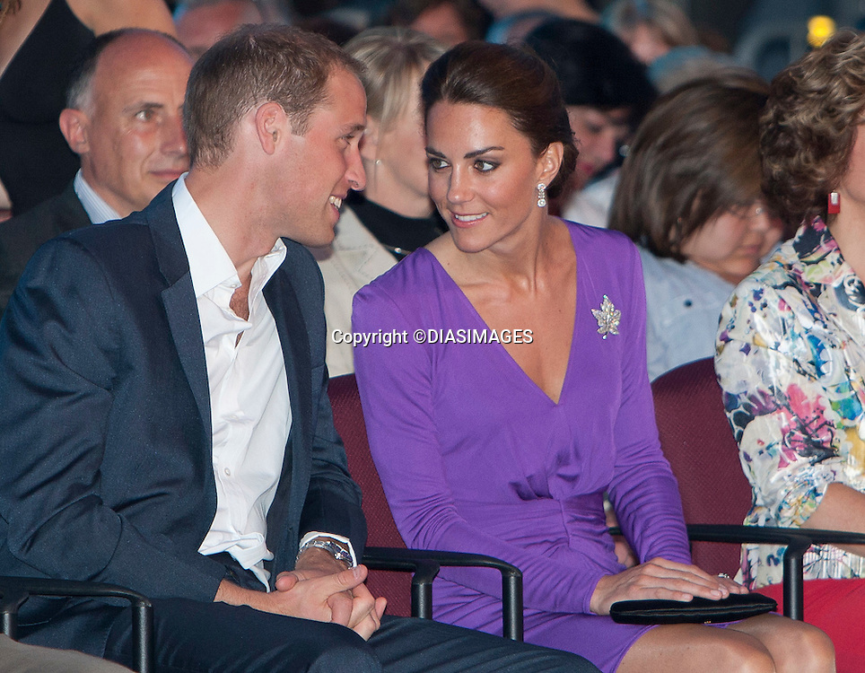 """PRINCE WILLIAM_ & KATE CANADA TOUR WRAP.The Duke and Duchess of Cambridge attend a Canada Day concert Parliament Hill, Ottawa_01/07/2011.Mandatory Credit Photo: ©DIASIMAGES..**ALL FEES PAYABLE TO: """"NEWSPIX INTERNATIONAL""""**..No UK Usage until 27/07/2011.IMMEDIATE CONFIRMATION OF USAGE REQUIRED:.DiasImages, 31a Chinnery Hill, Bishop's Stortford, ENGLAND CM23 3PS.Tel:+441279 324672  ; Fax: +441279656877.Mobile:  07775681153.e-mail: info@newspixinternational.co.uk"""
