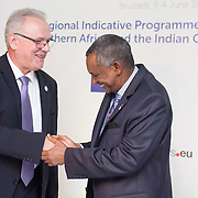 - 04 June 2015 - Belgium - Brussels - European Development Days - EDD - Signing Ceremony,  Regional Indicative Programme for Eastern Africa , Southern Africa and the Indian Ocean - Neven Mimica, EU Commissioner for International Cooperation and Development © European Union
