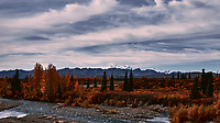 Mount Denali from the Alaska Railroad Train. Image taken with a Nikon D3x camera and 45 mm f/2.8 PC-E lens (ISO 100, 45 mm, f/4, 1/2000 sec).