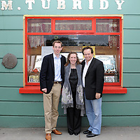 "RTE radio's ""The Tubridy Show"" was broadcasted from Tubridy's Bar in Cooraclare last week. Photo shows broadcaster Ryan Tubridy and RTE's Marty Morrissey from Quilty with Siobhan King, Shannon Development. <br /> Mike O'Flanagan/O'Flanagan Photography"