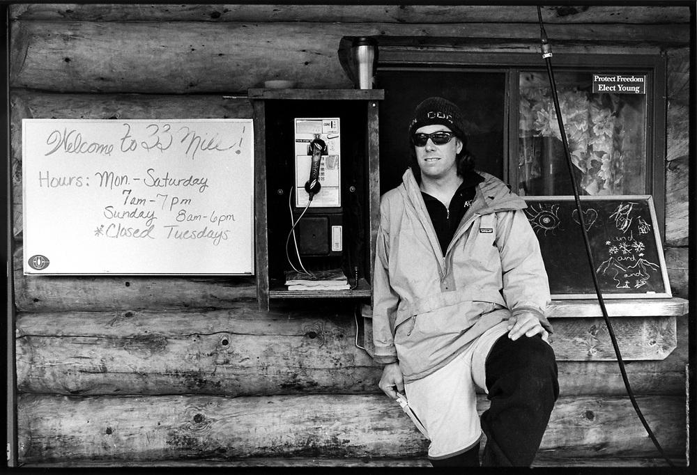 Seandog, proprietor, Alaska Heliskiing, Haines, AK.
