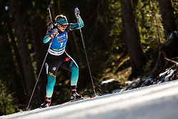 Anais Bescond (FRA) during the Women 15 km Individual Competition at day 2 of IBU Biathlon World Cup 2019/20 Pokljuka, on January 23, 2020 in Rudno polje, Pokljuka, Pokljuka, Slovenia. Photo by Peter Podobnik / Sportida