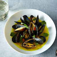 Mussels with Ginger Lemongrass Coriander