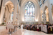 DENVER, CO - JUNE 20: Deacon Ordination for the Archdiocese of Denver at the Cathedral Basilica of the Immaculate Conception on June 20, 2015, in Denver, Colorado. (Photo by Anya Semenoff/Denver Catholic)