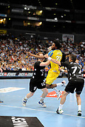 DESCRIZIONE : Handball coupe des coupes finale Tremblay Gummersbach<br /> GIOCATORE : Bingo Arnaud<br /> SQUADRA : Tremblay <br /> EVENTO : Coupe d'europe 2010-2011<br /> GARA : Tremblay Gummersbach<br /> DATA : 20/05/2011<br /> CATEGORIA : Handball Coupe d'europe<br /> SPORT : Handball<br /> AUTORE : JF Molliere par Agenzia Ciamillo-Castoria <br /> Galleria : France Hand 2010-2011 Action<br /> Fotonotizia : coupe des coupe finale Tremblay Gummersbach<br />   Match retour a Gummersbach