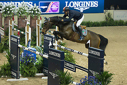 Moneta Luca Maria, (ITA), Connery<br /> Longines FEI World Cup™ Jumping Final I<br /> Las Vegas 2015<br />  © Hippo Foto - Dirk Caremans<br /> 17/04/15