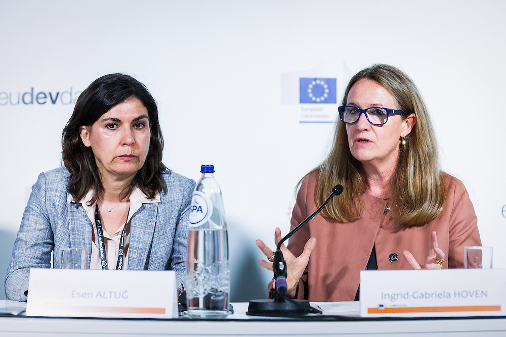 20160615 - Brussels , Belgium - 2016 June 15th - European Development Days - Tapping into the economic potential of refugees - A win-win for all ? © European Union