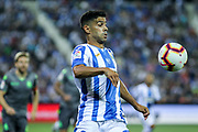 Juanfran of Leganes in action during the spanish league, La Liga, football match between Leganes and Real Sociedad on August 24, 2018 at Butarque stadium in Leganes, Madrid, Spain, Photo by Irina RH / SpainProSportsImages / DPPI / ProSportsImages / DPPI