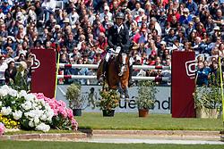Guerdat Steve, SUI, Dioleen<br /> Derby Région des Pays de La Loire<br /> Longines Jumping International de La Baule 2017<br /> © Hippo Foto - Dirk Caremans<br /> Guerdat Steve, SUI, Dioleen