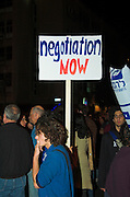 The signs for peace On the 4th of November 1995, Israeli Prime Minister Yitzhak Rabin was assassinated after a peace rally in Tel Aviv?s main square. Ever since an annual memorial event is held in the same place with a call to follow Rabin?s guidelines and fight for peace