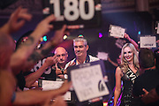 Steve Beaton walk on during the First Round of the BetVictor World Matchplay Darts at the Empress Ballroom, Blackpool, United Kingdom on 19 July 2015. Photo by Shane Healey.