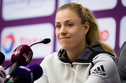 February 10, 2019 - Doha, QATAR - Angelique Kerber of Germany during the All Access Hour ahead of the 2019 Qatar Total Open WTA Premier tennis tournament (Credit Image: © AFP7 via ZUMA Wire)