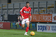 Stephen Walker of Middlesbrough (46) during the EFL Trophy group stage match between Burton Albion and U21 Middlesbrough at the Pirelli Stadium, Burton upon Trent, England on 7 November 2018.