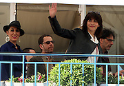 CANNES FILM FESTIVAL JURY ARRIVAL DINNER<br /> <br /> Terrace of the Hotel Martinez Cannes Jury al aperitif festival.  <br /> Sophie Marceau<br /> ©Exclusivepix Media