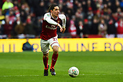 Hector Bellerin (24) of Arsenal during the EFL Cup Final match between Arsenal and Manchester City at Wembley Stadium, London, England on 25 February 2018. Picture by Graham Hunt.