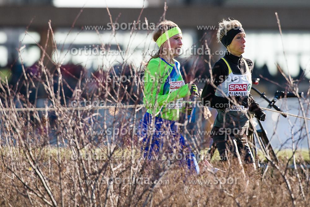 SAMORIN, SLOVAKIA - DECEMBER 10: Marusa Mismas of Slovenia competes during the Women's race of SPAR European Cross Country Championships on December 10, 2017 in Samorin, Slovakia. Photo by Sasa Pahic Szabo /Sportida