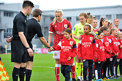 Mascots - Mandatory by-line: Paul Knight/JMP - 30/09/2017 - FOOTBALL - Stoke Gifford Stadium - Bristol, England - Bristol City Women v Yeovil Town Ladies - FA Women's Super League 1
