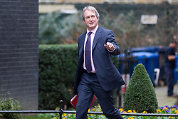 © Licensed to London News Pictures. 07/01/2013. London, UK. The Environment Secretary Owen Paterson is seen on Downing Street in London today (07/01/13) before the first cabinet meeting of 2013. Photo credit: Matt Cetti-Roberts/LNP
