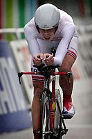 Sykkel<br /> UCI VM 2014<br /> Ponferrada Spania<br /> 22.09.2014<br /> Foto: PhotoNews/Digitalsport<br /> NORWAY ONLY<br /> <br /> Ponferrada - Spain  - wielrennen - cycling - radsport - cyclisme - Andreas Vangstad (NOR)  pictured during  Championnats du Monde UCI CLM/ UCI TT World Championships (Men Under 23  WC - Wereldkampioenschap Time Trial Individual