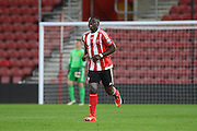 Southampton Olufela Olomola goalscorer during the Barclays U21 Premier League match between U21 Southampton and U21 Manchester United at the St Mary's Stadium, Southampton, England on 25 April 2016. Photo by Phil Duncan.
