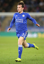 Leicester City's Ben Chilwell during the Premier League match at the King Power Stadium, Leicester.