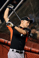 PHOENIX, AZ - JUNE 11: Ichiro Suzuki #51 of the Miami Marlins warms up prior to the game against the Arizona Diamondbacks at Chase Field on June 11, 2016 in Phoenix, Arizona.  (Photo by Jennifer Stewart/Getty Images)