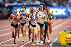 Jessica Judd of Great Britain in action - Mandatory byline: Patrick Khachfe/JMP - 07966 386802 - 04/08/2017 - ATHLETICS - London Stadium - London, England - Women's 1,500m Round 1 - IAAF World Championships
