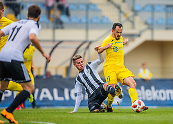 11# Tonci Mujan of NK Domzale during football match between NK Domzale and ND Mura in 1. Slovenian National League, on October 6, 2018 in Sports park Domzale Ljubljana, Ljubljana, Slovenia. Photo by Urban Meglic / Sportida