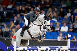 Estermann, Paul (SUI) Curtis Sitte<br /> Stuttgart - German Masters 2017<br /> © www.sportfotos-lafrentz.de/Stefan Lafrentz