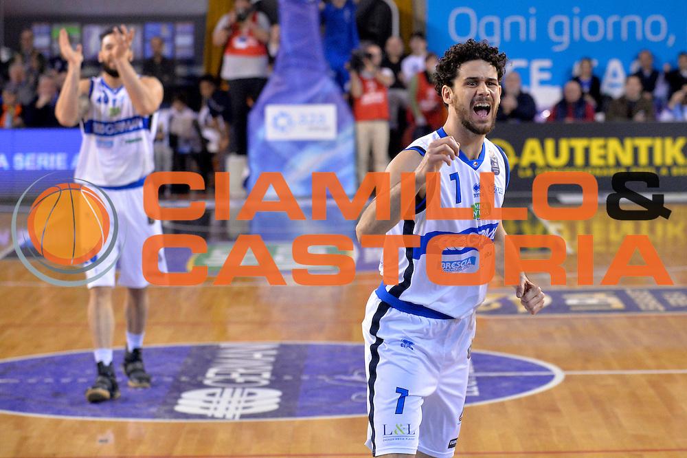 Luca Vitali<br /> Germani Basket Brescia Leonessa - Sidigas Scandone Avellino<br /> Lega Basket Serie A 2016/2017<br /> Montichiari, 26/02/2017<br /> Foto M.Ceretti / Ciamillo - Castoria