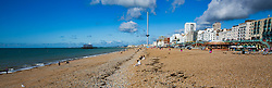 09/09/2017. Brighton, UK. Brighton and Hove beach in the late summer sunshine. Photo credit: Hugo Michiels