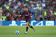 Philippe Coutinho of FC Barcelona during the UEFA Champions League, Group B football match between FC Barcelona and PSV Eindhoven on September 18, 2018 at Camp Nou stadium in Barcelona, Spain - Photo Manuel Blondeau / AOP Press / ProSportsImages / DPPI