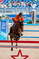 Houtzager Marc, NED, Sterrehofs Calimero<br /> World Equestrian Games - Tryon 2018<br /> © Hippo Foto - Dirk Caremans<br /> 19/09/2018