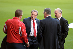 Caption correction * Crystal Palace Manager, Neil Warnock Arrives at the liberty stadium - Photo mandatory by-line: Alex James/JMP - Mobile: 07966 386802 - 29/11/2014 - Sport - Football - Swansea -  - Swansea v Crystal palace  - Barclays Premier League