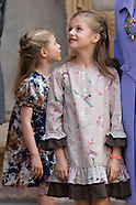 Princess Leonor and Princess Sofia, the new Princess of Asturias
