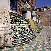 Palermo, the cathedral, detail of the prospect.<br /> Cattedrale di Palermo,prospetto, dettaglio.