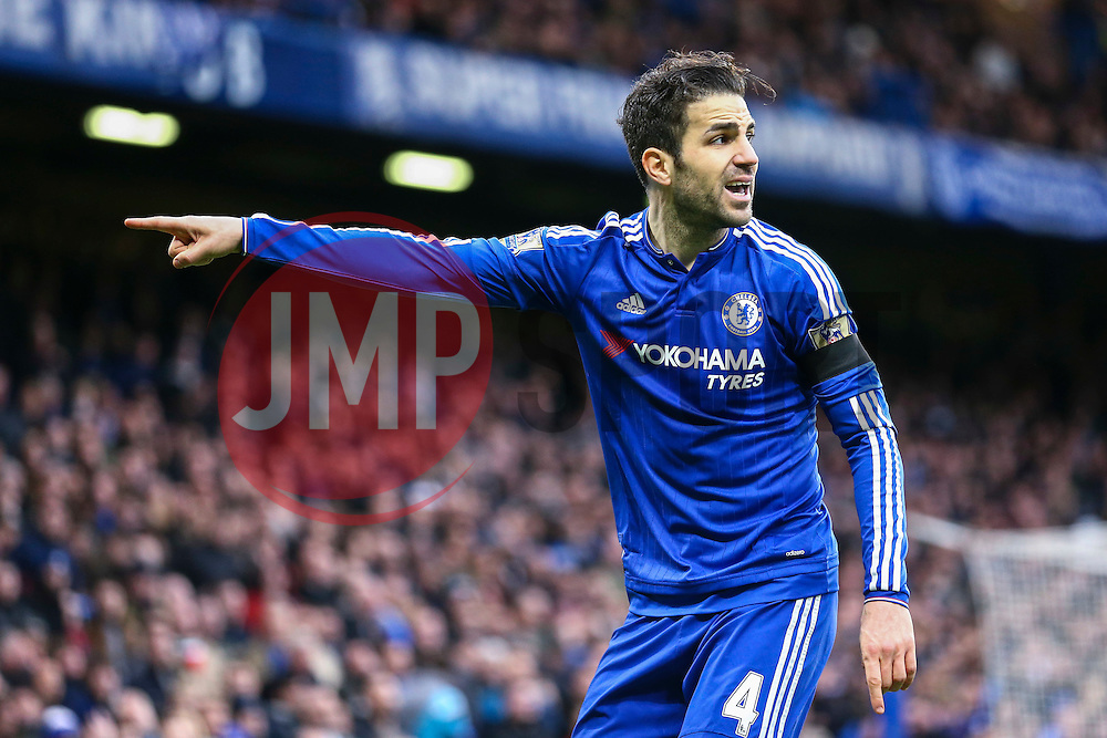 Cesc Fabregas of Chelsea during the match - Mandatory byline: Jason Brown/JMP - 19/03/2016 - FOOTBALL - London, Stamford Bridge - Chelsea v West Ham United - Barclays Premier League