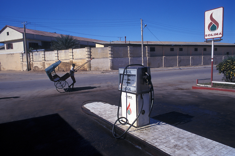 Gas station (petrol)