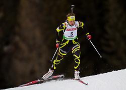 21.01.2011, Südtirol Arena, Antholz, ITA, IBU Biathlon Worldcup, Antholz, Sprint Women, im Bild Anais Bescond (FRA) // Anais Bescond (FRA) during IBU Biathlon World Cup in Antholz, Italy, EXPA Pictures © 2011, PhotoCredit: EXPA/ J. Feichter