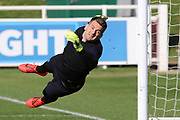 England goallkeeper Tom Heaton during the England football team training session at St George's Park National Football Centre, Burton-Upon-Trent, United Kingdom on 24 March 2019.