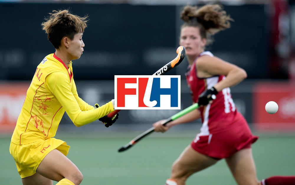 AUCKLAND - Sentinel Hockey World League final women<br /> Match id: 10309<br /> 19 USA v CHN (Losing Q/Finalists Match)<br /> Foto: C<br /> WORLDSPORTPICS COPYRIGHT FRANK UIJLENBROEK