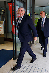 © Licensed to London News Pictures. 21/05/2016. London, UK. Former Prime Minister GORDON BROWN arrives at TUC Congress House in London to deliver a speech on the EU referendum at Fabian Society Summer Conference on Saturday, 21 May 2016. Photo credit: Tolga Akmen/LNP