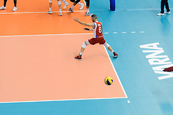 September 12, 2018 - Varna, Bulgaria - Iran vs Puerto Rico, pool D, during 2018 FIVB Volleyball Men's World Championship Italy-Bulgaria 2018, Varna, Bulgaria on September 12, 2018  (Credit Image: © Hristo Rusev/NurPhoto/ZUMA Press)