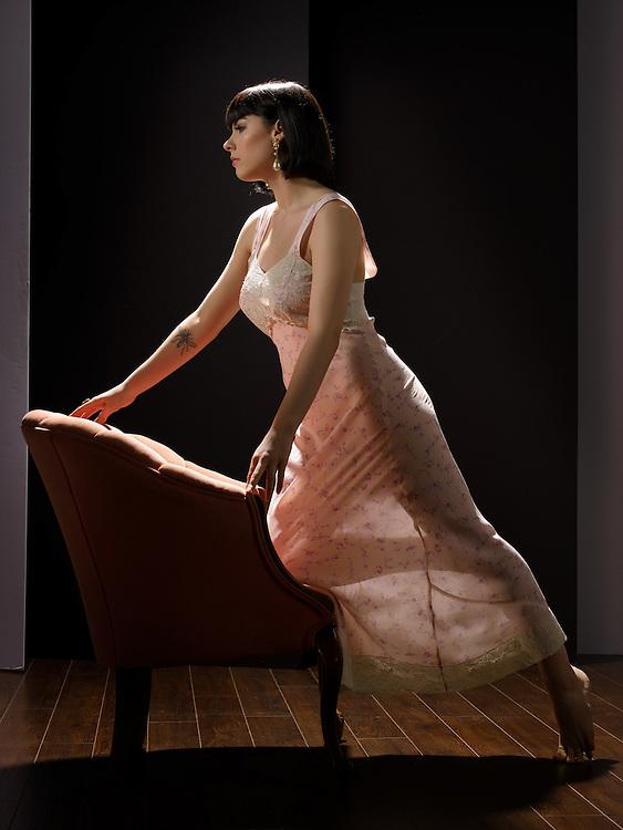 Model: Dorrie Mack; Makeup & hair: Judi Willrich; Styling, lingerie: Gigi's House of Frills;