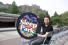 Sleep in the Park 2018, Edinburgh, 26 June 2018