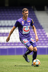 16.07.2019, Generali Arena, Wien, AUT, 1. FBL, FK Austria Wien, Fototermin, im Bild Stephan Zwierschitz // Stephan Zwierschitz during the official team and portrait photoshooting of tipico Bundesliga Club FK Austria Wien for the upcoming Season at the Generali Arena in Vienna, Austria on 2019/07/16. EXPA Pictures © 2019, PhotoCredit: EXPA/ Florian Schroetter