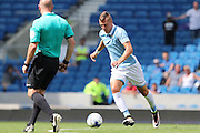 SS Lazio's Sergej Milinkovic during the Pre-Season Friendly match between Brighton and Hove Albion and SS Lazio at the American Express Community Stadium, Brighton and Hove, England on 31 July 2016.