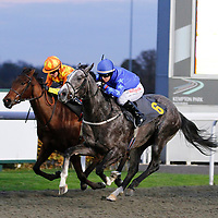 Ocean Tempest and Kirsty Milczarek winning the 4.05 race