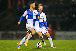 Chris Lines of Bristol Rovers in action - Rogan Thomson/JMP - 15/11/2016 - FOOTBALL - Memorial Stadium - Bristol, England - Bristol Rovers v Crawley Town - FA Cup First Round Replay.